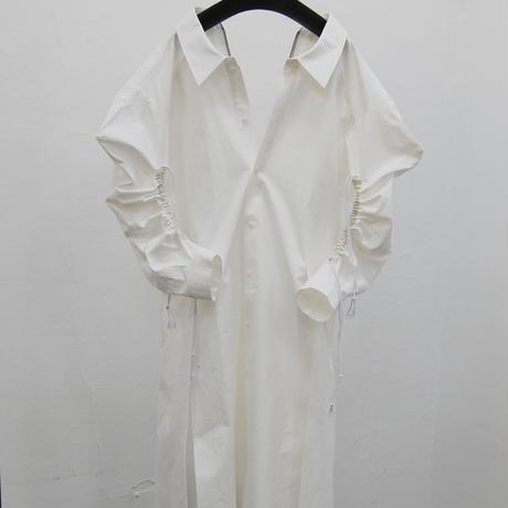 SHIROMA 20-21A/W Cord lock shirt dress