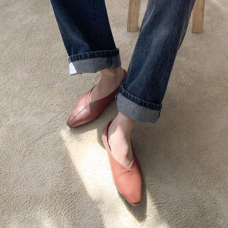 《予約販売》v flat shoes