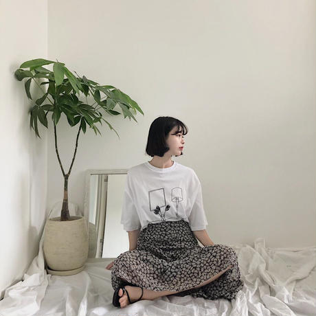 《予約販売》morning sun T-shirt