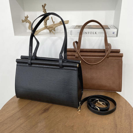 《予約販売》modern square 2way bag (2color)
