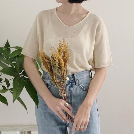 《予約販売》summer knit T