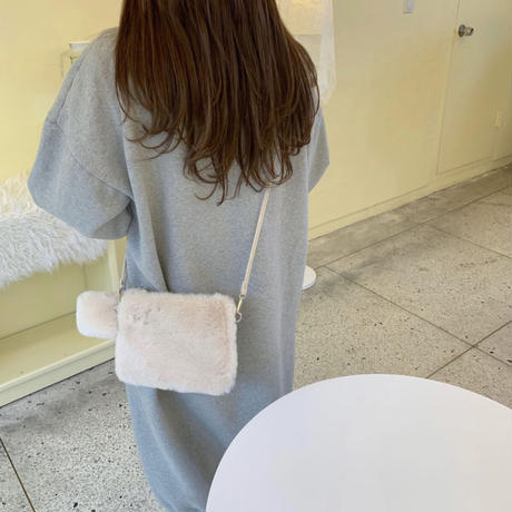 《予約販売》mink 2way bag