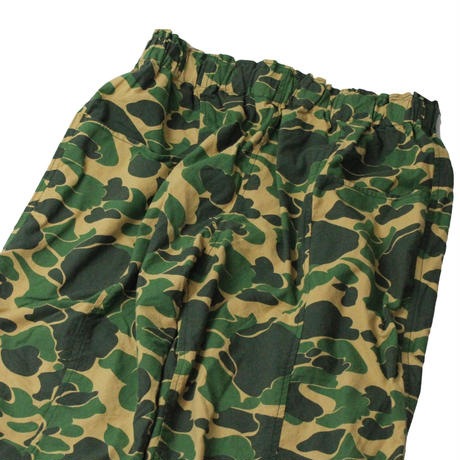South2 West8 Army String Pant-Printed Flannel Camouflage - M size