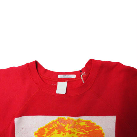 COPY CAT  OLD SHORT SLEEVE SWAET COMPOSER RED  ② size ASORT