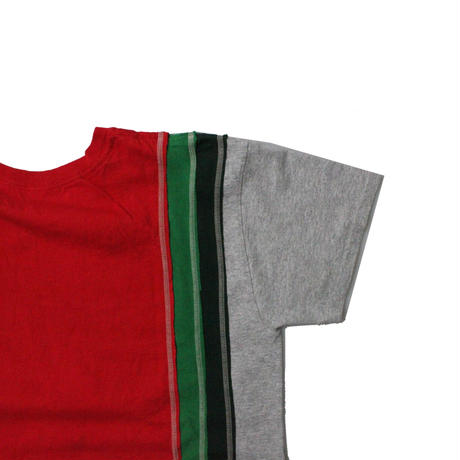 Rebuild by Needles 7Cut Tee College RED ⑥ - size M