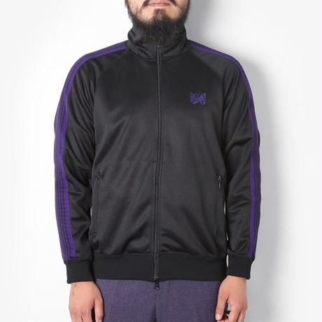 Needles TRACK JACKET  POLY SMOOTH BLACK