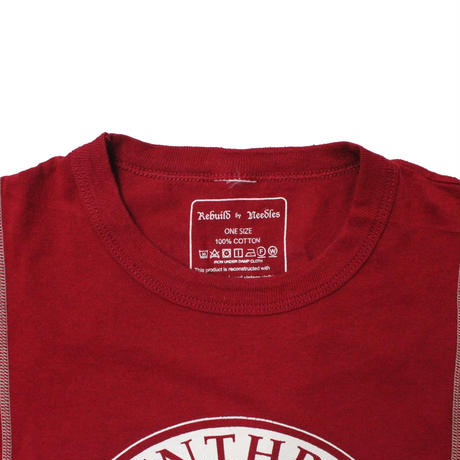 Rebuild by Needles 7 Cut Tee College Wide WINE ② - onesize