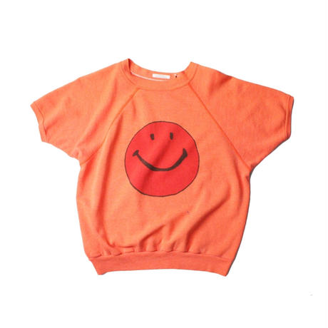 COPY CAT   -  OLD SHORT SLEEVE SWAET SMILE ORANGE  - size ASORT