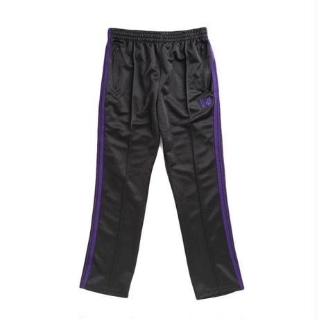 Needles NARROW TRACK PANT  POLY SMOOTH BLACK -M size