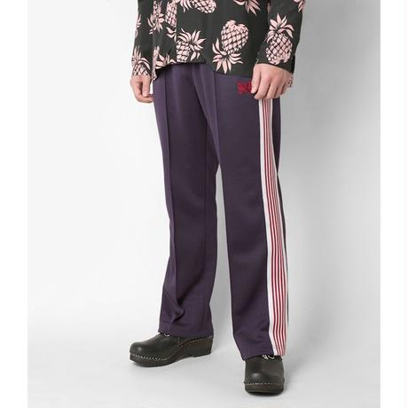 Needles TRACK PANT - POLY SMOOTH EGGPLANT