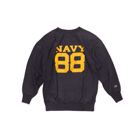 COPY CAT    OLD LONG SLEEVE SWAET  - Navy