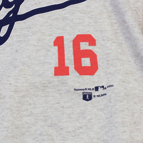 Los Angeles Dodgers #16 HIDEO NOMO used long sleeve sweat ③ - size L