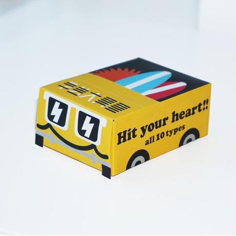 Hit your Heart!!~ミニハンドタオル・ヘアゴム~(全10種/ランダム)/BREAK OUT×学芸大青春