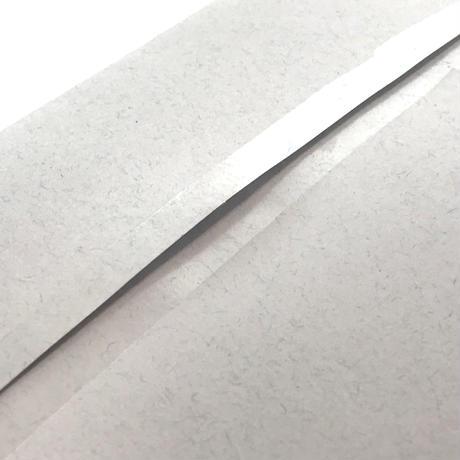『 セロハンテープ風 』 透明箔押し封筒2種