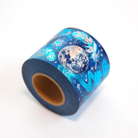 【 受注生産会 】2020年8月1日(土)~2020年8月25日(火)まで ― 『 星海飛行 』 箔押しマスキングテープ