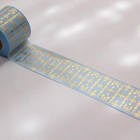 【 受注生産会 】2021年5月1日(土)~2021年5月23日(日)まで ― 花形装飾活字 箔押しマスキングテープ 『 第2弾 』 Type-004