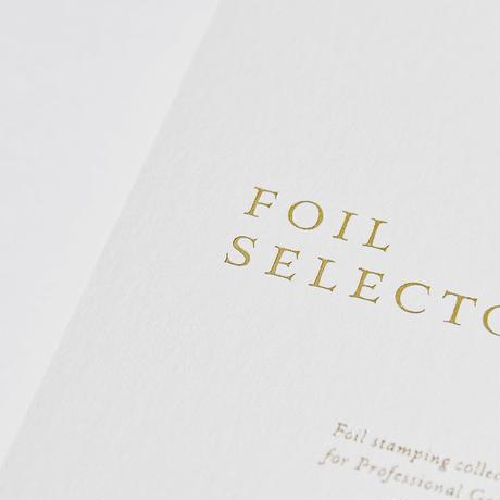 【 極少増産分 】 FOIL SELECTOR 4.0