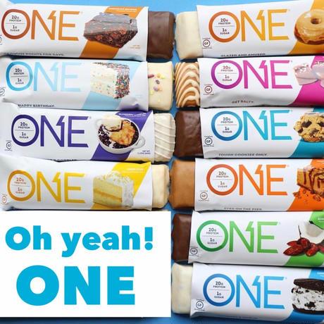 Oh yeah! ONE プロテインバー 10種