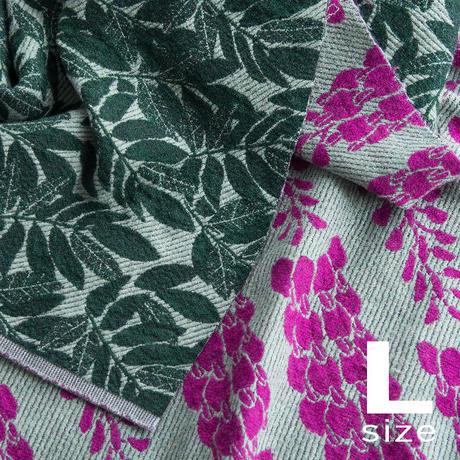 BLOOM blanket | WISTERIA purple (L)130cm×200cm