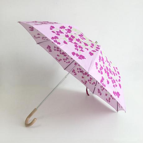 FLOWERS 晴雨兼用折り畳み傘|Delphinium purple