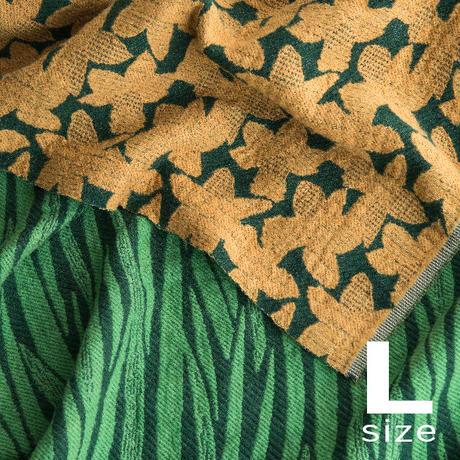 BLOOM blanket | NARCISSUS yellow (L)130cm×200cm