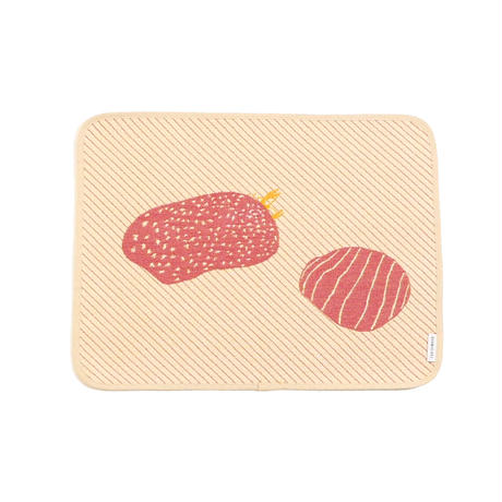 hide and seek CRAB place mat | cray fish