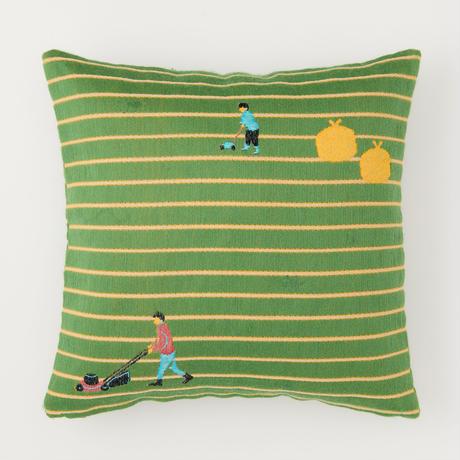 snip snap SHIBA cushion cover |  lawn mowers