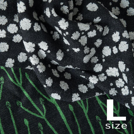 BLOOM blanket | GYPSOPHILA (L)130cm×200cm