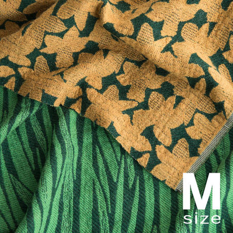 BLOOM blanket | NARCISSUS yellow (M)130cm×130cm