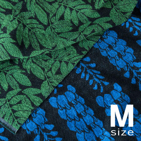 《予約販売10%OFF》             BLOOM blanket | WISTERIA blue (M)130cm×130cm
