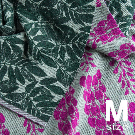 BLOOM blanket | WISTERIA purple (M)130cm×130cm