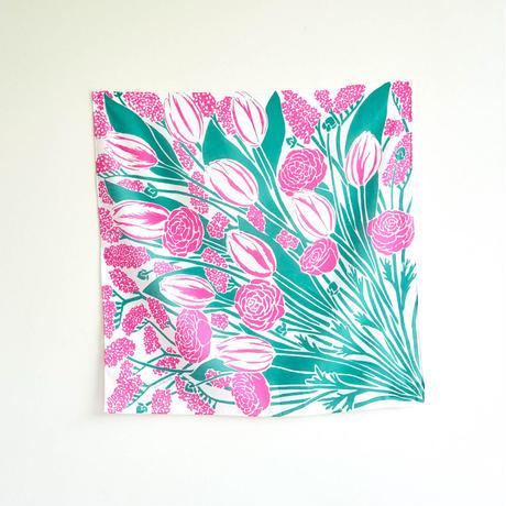 FLOWERS   magenta