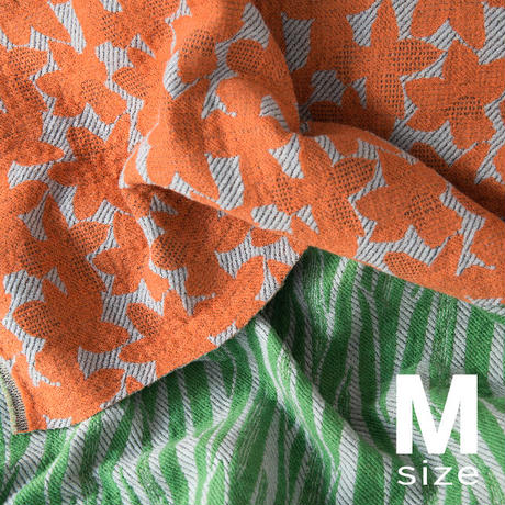 BLOOM blanket | NARCISSUS orange (M)130cm×130cm