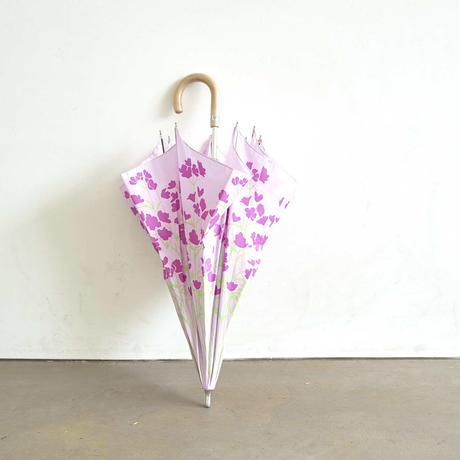 FLOWERS 晴雨兼用長傘|Delphinium purple