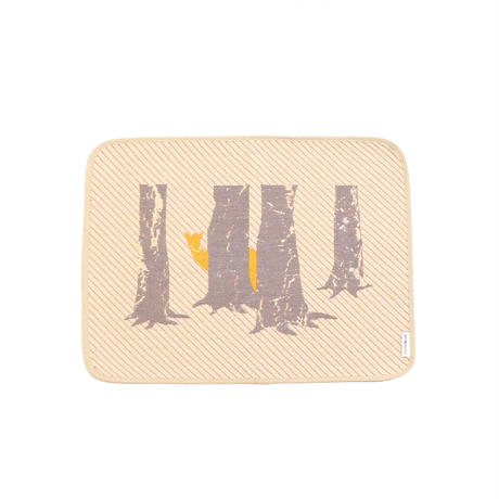 hide and seek DEER place mat | deer
