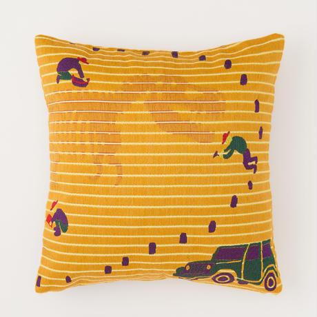 snip snap HAKKUTSU cushion cover | tyrannosaurus