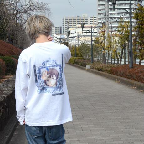 【KUDAN】NEGENTROPYロングスリーブTシャツ-WHITE-
