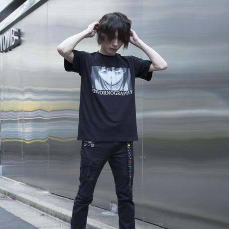 【A-DICT】INFORNOGRAPHY Tシャツ-BLACK-