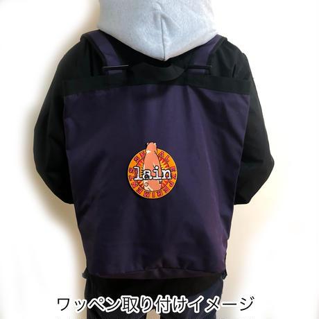 【messa store】Cyberia Bear remix ワッペン-BLUE-