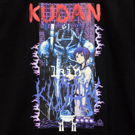 【KUDAN】ENTROPY Tシャツ-BLACK-