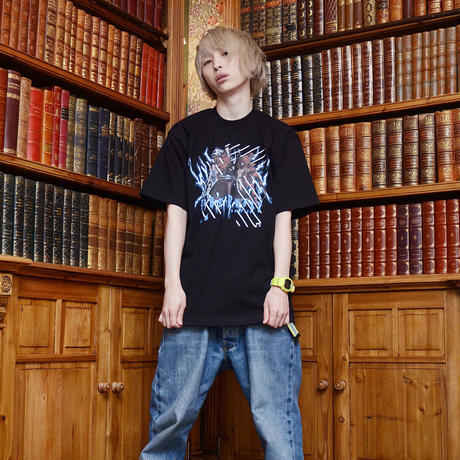 【KUDAN】Ergo Proxy Tシャツ BLACK