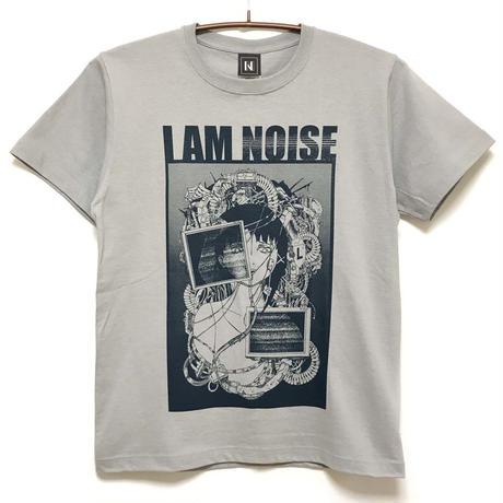 【Nestorarts】NOISE Tシャツ-GRAY-
