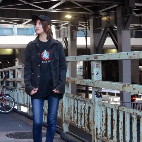 【messa store】Cyberia Bear remix Tシャツ-BLACK-
