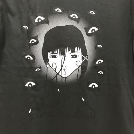 【PUNK DRUNKERS】lain Tシャツ-SUMI-