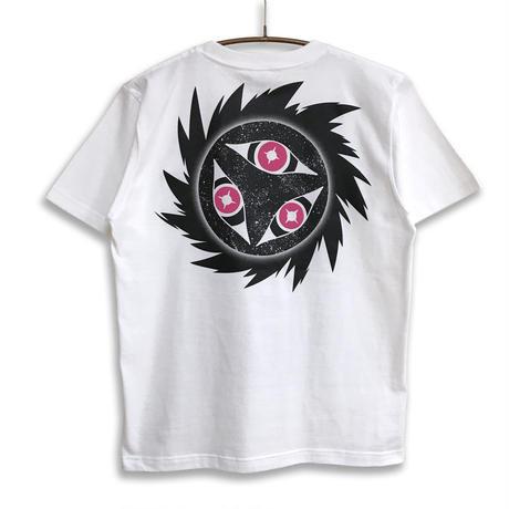 【messa store】暗黒ホエールズ曼荼羅Tシャツ-WHITE-