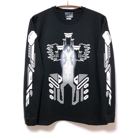【KUDAN】IGGY ロングスリーブTシャツ BLACK