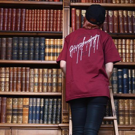【messa store】awakening Tシャツ BURGUNDY