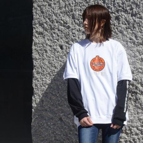 【messa store】Cyberia Bear mix Tシャツ-WHITE-