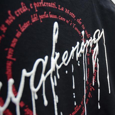 【messa store】awakening Tシャツ BLACK