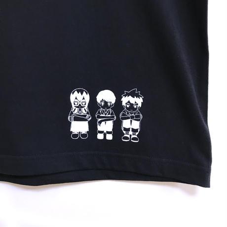 【messa store】傍観者Tシャツ-BLACK-